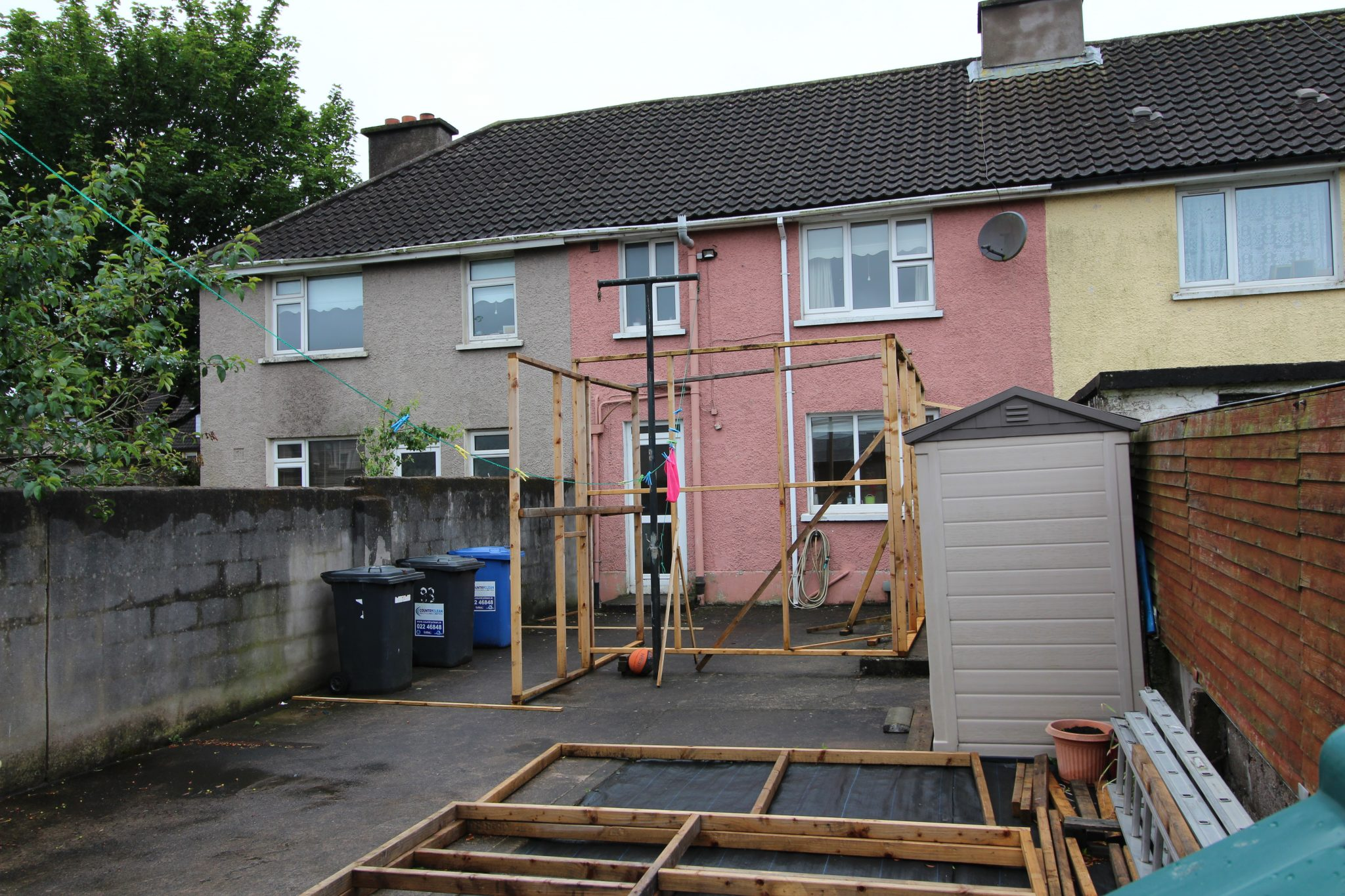 small house extension
